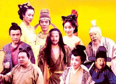 八仙过海的故事源远流长,而根据神话传说何仙姑的故事改编的电视剧